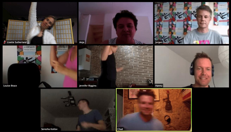 google hangout screenshot