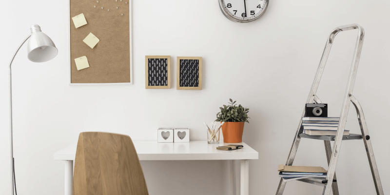 7 Productive Home Office Tips for Remote Workers: Infographic